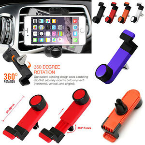 Car-Cradle-Portable-GPS-Navigation-Phone-Mobile-360-Bracket-Air-Vent-Holder