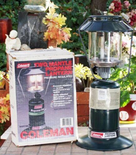 Vintage Coleman Double Mantle Propane Lantern 5154 097c for sale online