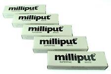 5 paquetes de Modelado Masilla Epoxi Superfine Blanca Milliput Esculpir Cerámica X1018d