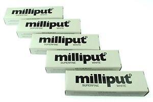 5 Packs Superfine White Milliput Epoxy Putty Modelling Sculpting Ceramics X1018d