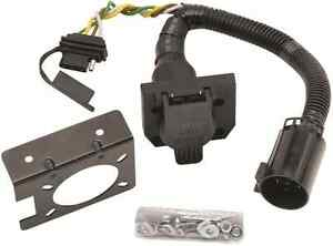 Trailer Hitch Wiring Kit W Factory Tow Pkg For 09 12 Toyota Tacoma