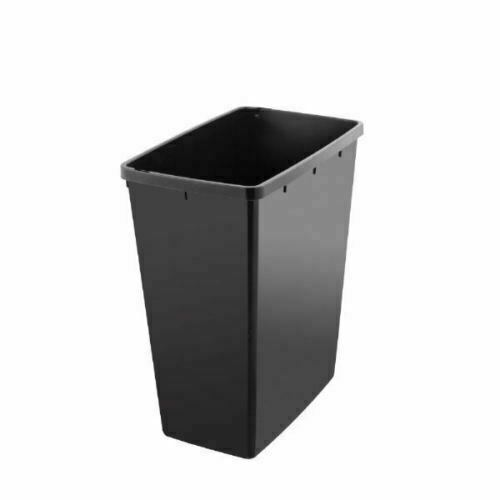 40 L Slim Line Recycling Bin 40 Liter Heavy Duty Plastic Lift Top Sealed Lid New