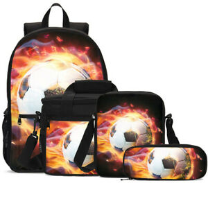 Harry Potter Kids School Backpack Insulated Lunch Box Pen Case Lot Boys Gift