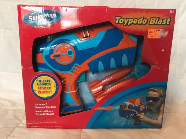 Swimways toypedo blast ages 5 includes 3 bandits swimming pool.