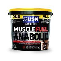 Usn Muscle Fuel Anabolic Lean Muscle Gain Shake Powder 4 Kg - Chocolate