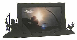 Bow-Hunting-Buck-Deer-Picture-Frame-3-5-034-x5-034-3-034-x5-034-H-Archery-Hunt