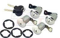 Citroen Berlingo Peugeot Partner Barrel Lock Set Door Locks Key Barrels O/S N/S