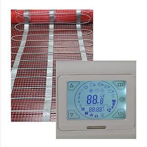 Suelo radiante el ctrico azulejos calefacci n 1 hasta 20 - Calefaccion suelo radiante electrico ...