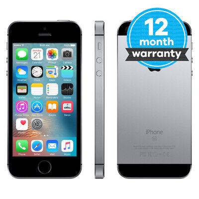Apple iPhone SE - 32GB - Space Grey (EE) Smartphone