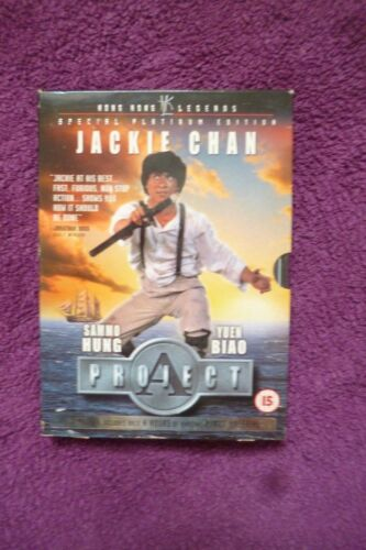 1 of 1 - Classic Jackie Chan Sammo Hung Project A  (2 DISC DVD UK RELEASE) Stunt Kung Fu