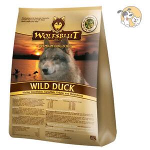 Wolfsblut Wild Duck 15 kg | Trockenfutter mit Ente | Hundefutter