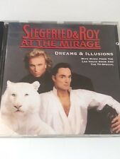 Siegrfried & Roy At The Mirage Dreams & Illusions CD 16TRACKS From Live+TV Show