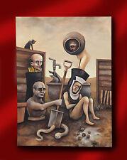 David Whitlam artista pintura al óleo originales surrealista visionario artista del Norte