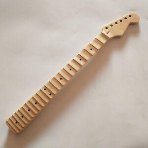 Full-scalloped-Guitar-Neck-parts-Replacement-22-Fret-Maple