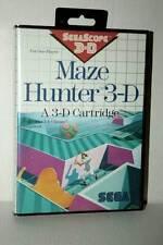 MAZE HUNTER 3D GIOCO USATO SEGA MASTER SYSTEM EDIZIONE ITALIANA FR1 45179