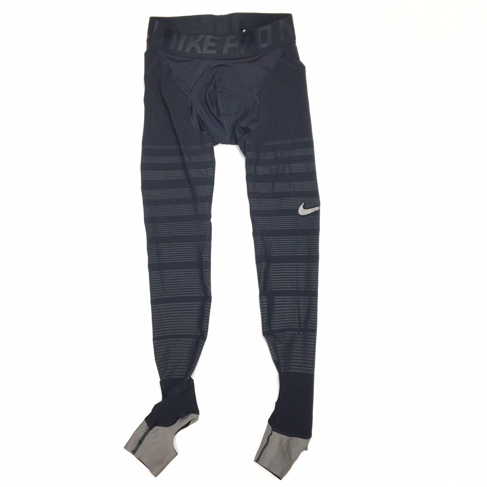 Compresión Nike Pro Para Hombre hyperrecovery Calzas Tamaño Pequeño Negro 812988-010