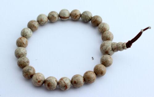 Buddha Power Bracelet Gemstone Bracelet Ca 8 mm Ball