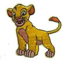 "Lion King Simba /& Nala Characters 3 1//4/"" Tall Embroidered Iron On Patch"