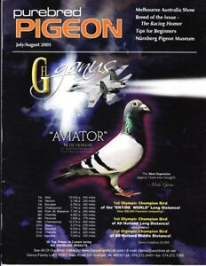 Details about PUREBRED PIGEON Magazine ~JULY/AUG 2005~ RACING HOMER ~  OUT-OF-PRINT