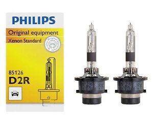 2x new xenon philips d2r 4300k 85126 85v 35w bulb. Black Bedroom Furniture Sets. Home Design Ideas