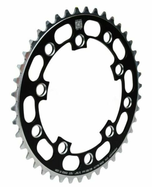 Porkchop BMX Chop Saw I single speed bicycle chainring 44T 110//130mm bcd BLACK