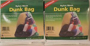 2PK DUNK BAG-NYLON MESH-LAUNDRY-W<wbr/>ASH-TOTE-FISH-<wbr/>GAME-TOYS-FOOD 19 X 23 DRAWSTRING