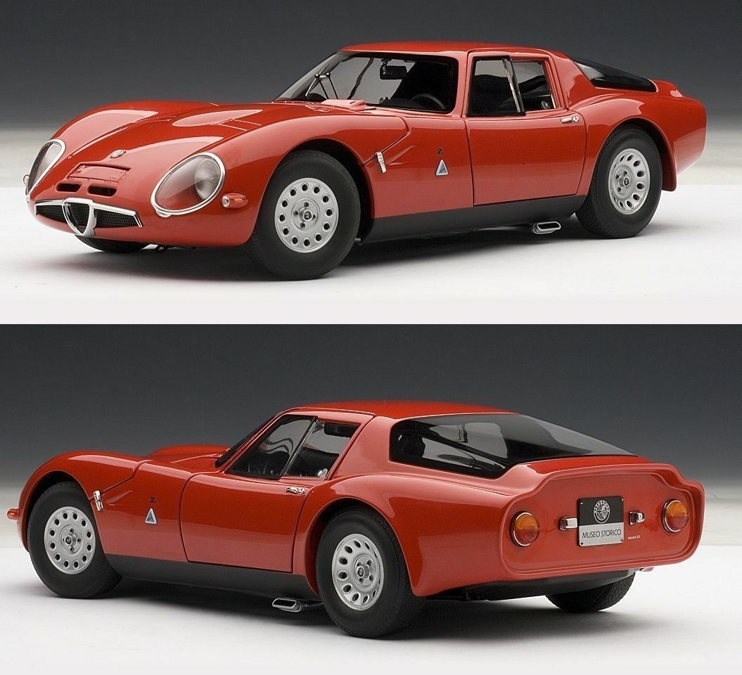 1:18 - Autoart ALFA ROMEO TZ 2 1965 (Red) -