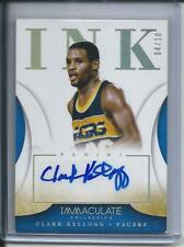 2013-14 Panini Immaculate Collection INK Gold Clark Kellogg / 10