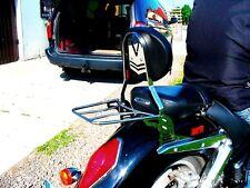 HONDA VTX 1800 VTX1800 CUSTOM SISSY BAR PASSENGER BACKREST + RACK