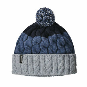 watch 60bad b7110 Details about Patagonia Womens Beanie Pom Hat- show original title