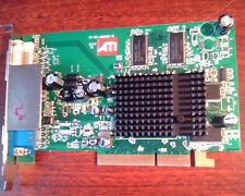 AGP card ATI 109-A03500-10 Radeon 9550XL 256MB 102A0352313 DVI VGA AV