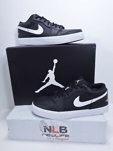check out ddfc8 fb552 Image is loading Nike-Air-Jordan-V-2-Low-Leather-Black-