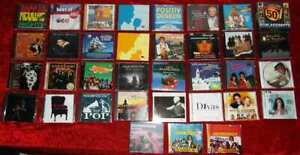 50 CD´s ROCK/POP & Co. - Sammlung - McCartney Rod Stewart Santiano ... usw...