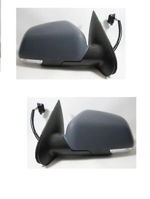 SKODA OCTAVIA MK2 2004-2009 ELECTRIC PRIMED DOOR WING MIRROR O//S DRIVERS SIDE
