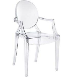 Louis Ghost sedia REPLICA TRASPARENTE   eBay