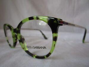 d7d601b2e88cf DOLCE   GABBANA D G EYEGLASS FRAME DG3242 2970 HAVANA GREEN 48 MM ...