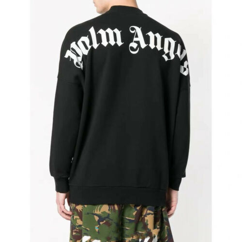 2018 Rare COOL JUSTIN BIEBER PURPOSE Design Palm Angels baseball Sweatshirt