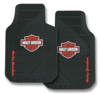 Harley Davidson Bar & Shield Car Mats Pair