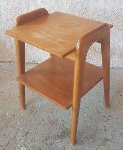 Lovely-Pedestal-Table-Years-60-Lines-Scandinavian