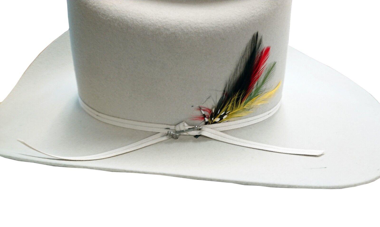 Stetson Rancher 6X Reg Fur Felt Hat Silverbelly