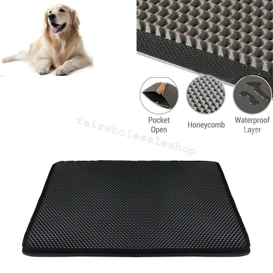 Cat Litter Trapper Mat Extra Large Size 7560cm Dual Layer PUPPY 3D honeycomb S