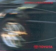 Toyota Prospekt 3 03 RAV4 Prius Previa Celica MR2 brochure 2003 Auto PKWs Japan