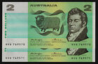 Two Dollars $2 1976 R86c Knight Wheeler ORCB side thread consecutive pair UNC