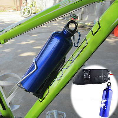 750ml Outdoor Sports Cycling Camping Bicycle Aluminum Alloy Water Bottle