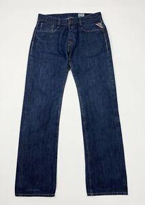Replay-955-jeans-billstrong-uomo-usato-boyfriend-W31-L34-tg-44-straight-T5322
