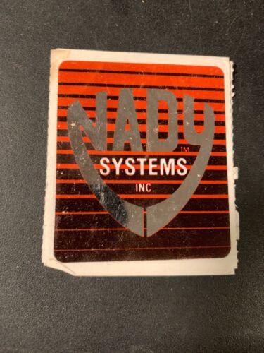 Nady Wireless Systems Sticker Decal