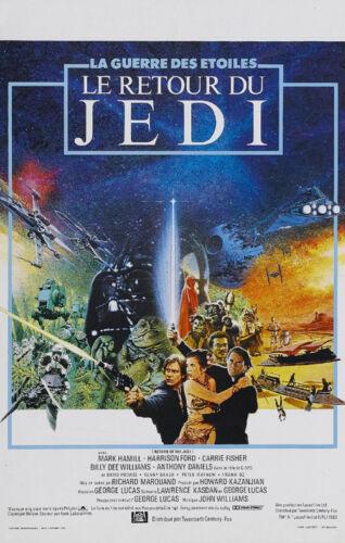 Star Wars Return of Jedi #126 movie poster print