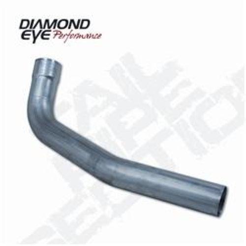 "Diamond Eye Exhaust Pipe 4/"" ALUMINIZED Y-PIPE"