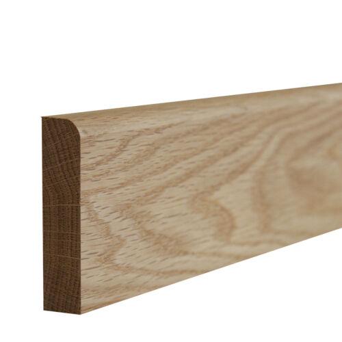 Solid Oak Upstand I 2.4m /& 3.0m I Kitchen Worktop Up Stand I 70//95//125//145//195mm