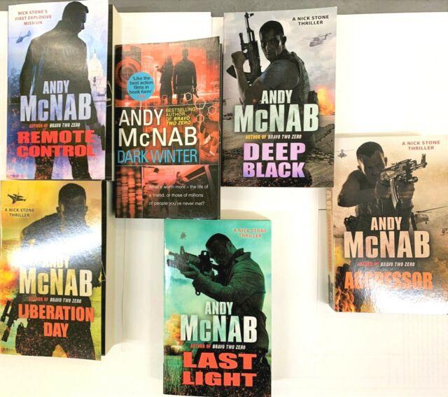 Andy Mcdermott Nina Wilde Eddie Chase 6 Books Collection Set Thriller Fiction Bn For Sale Ebay
